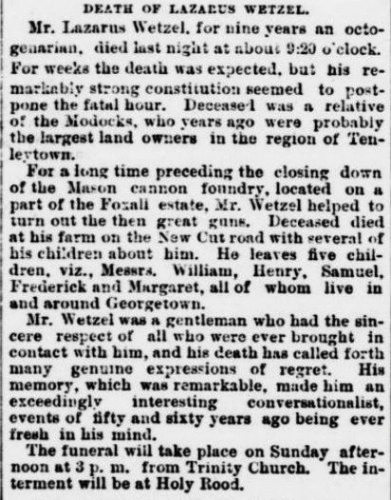"(Evening Star, April 28, 1893, p.10. ""Modocks"" = Murdocks.)"