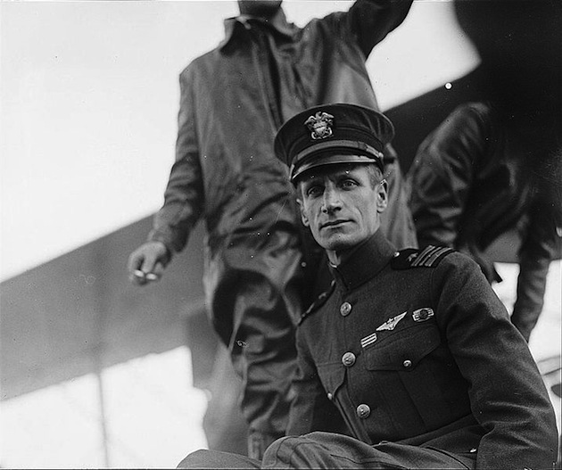 Lt. Commander Albert Cushing Read, naval aviator.