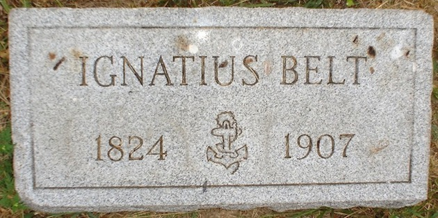 Ignatius Belt, Navy?, 1824-1907  (section 26)