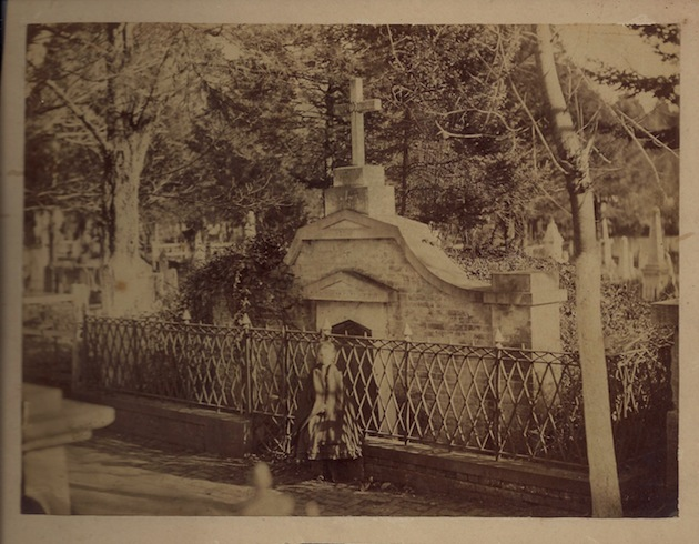 The Causten family vault in Congressional Cemetery. (Undated photo, courtesy of a descendant)