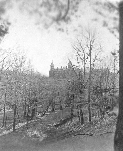College Run, 1874 (Georgetown University Archives)