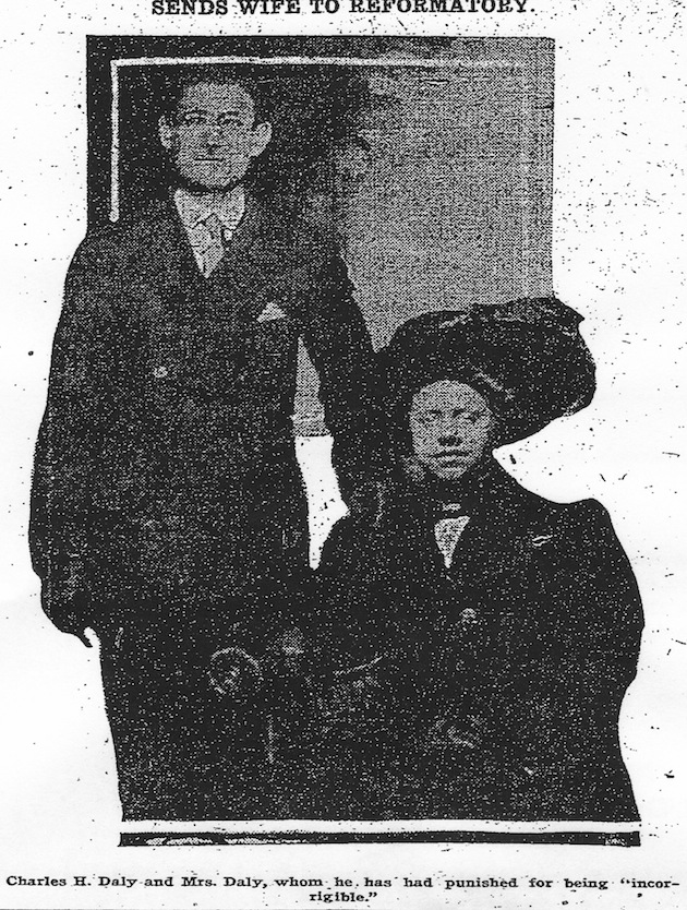 Charles and Edith Daly (Washington Post, January 19, 1911, p.12)