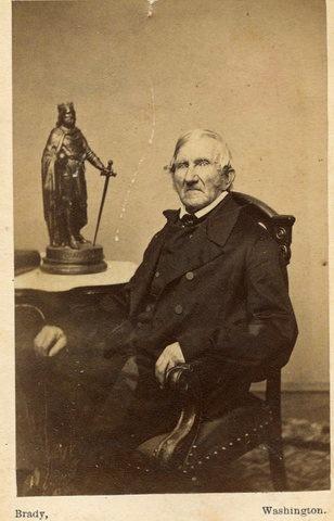 James Hyman Causten (1788-1874)  (Archives of the Edgar Allan Poe Society of Baltimore, University of Baltimore)