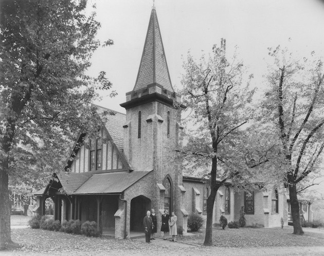 Mount Tabor Church in 1941.