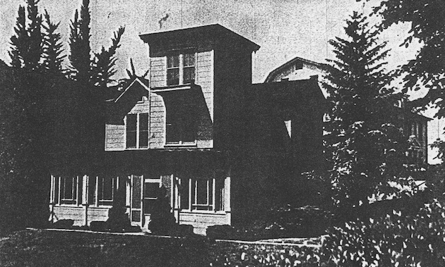 Mount Alto was moved to the southern edge of the property to make way for construction of the National School of Domestic Arts and Science. Lowered, and stripped of its front steps, shutters, porches, and balustrades, it served as the residence of the hospital's director, and survived into the sixties. (Washington Star Magazine, November 26, 1961, p.4)