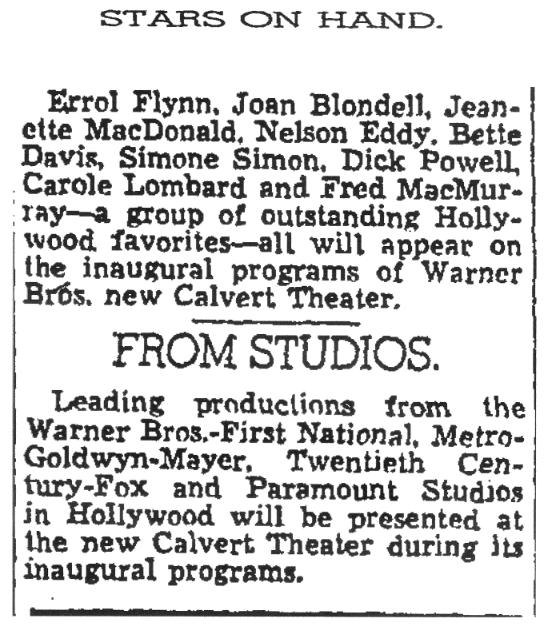 (Washington Post, May 6, 1937, p.10)