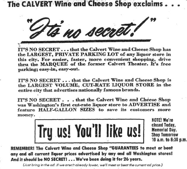 (Washington Post, May 29, 1972, p.A12)