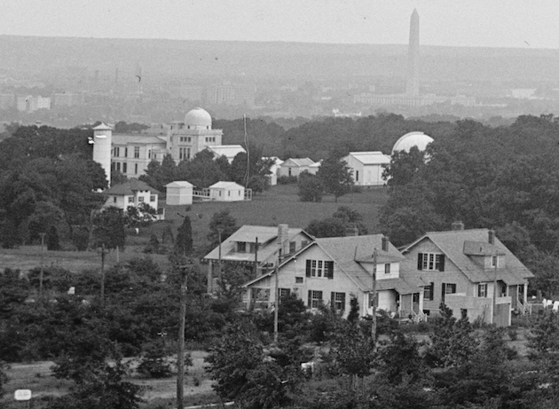 """A Bucolic View Of Washington From American University"", 1914 (Library of Congress)"