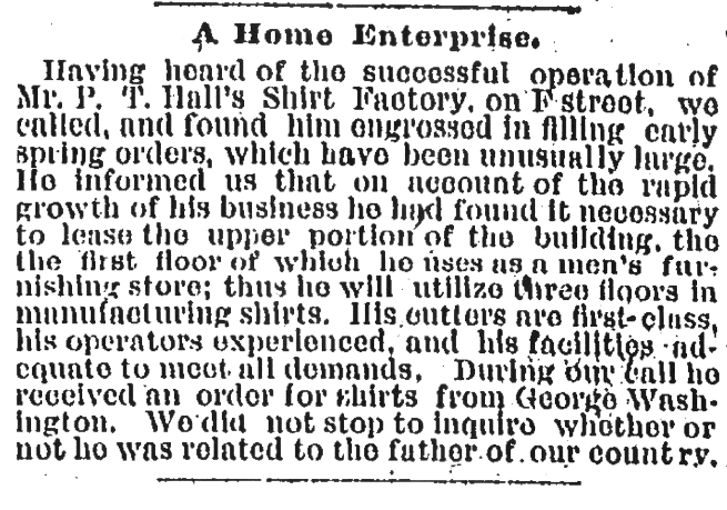 (Washington Post, April 12, 1890, p.5)