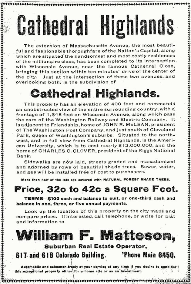 (Washington Post, April 14, 1907)