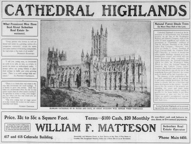 (Washington Herald, June 23, 1907, Ghosts of DC)