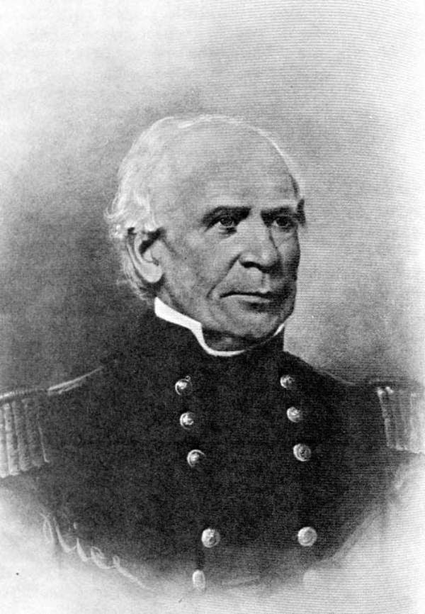 Thomas Sidney Jesup (1788-1860), Quartermaster General of the Army. (State Archives of Florida)