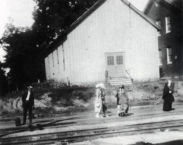 St. Ann's Church, circa 1890. (Tenleytown Historical Society)